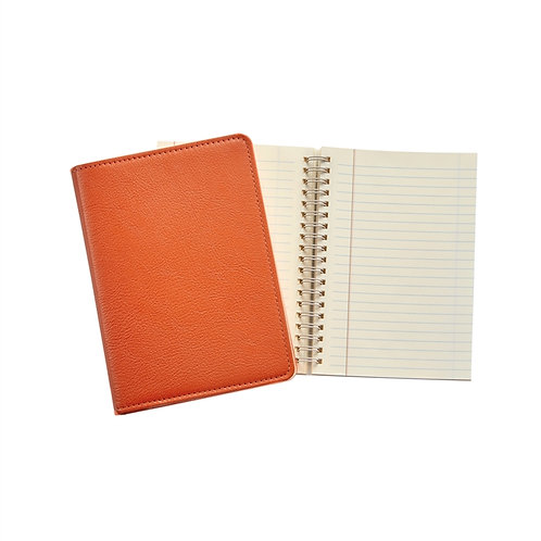 "7"" Wire-O-Notebook Goatskin Leather - JS7-GTI"