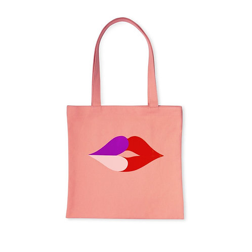 kate spade new york book tote, heart lips