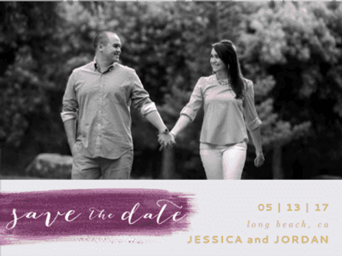 Envelopments - Painted Love Save The Date