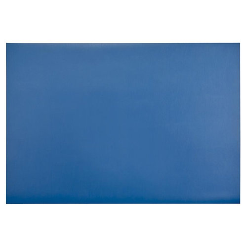 Desk Blotter Blue/Taupe Combo