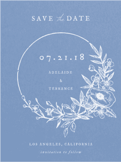Envelopments - Enchanted Wreath Save the Date