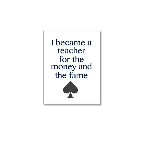 Teacher Greeting Card