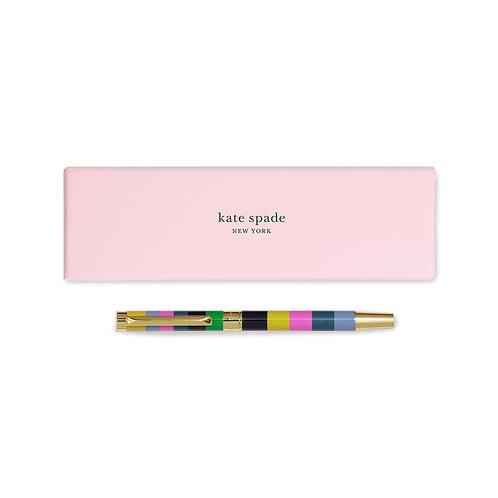 kate spade new york ballpoint pen, enchanted stripe