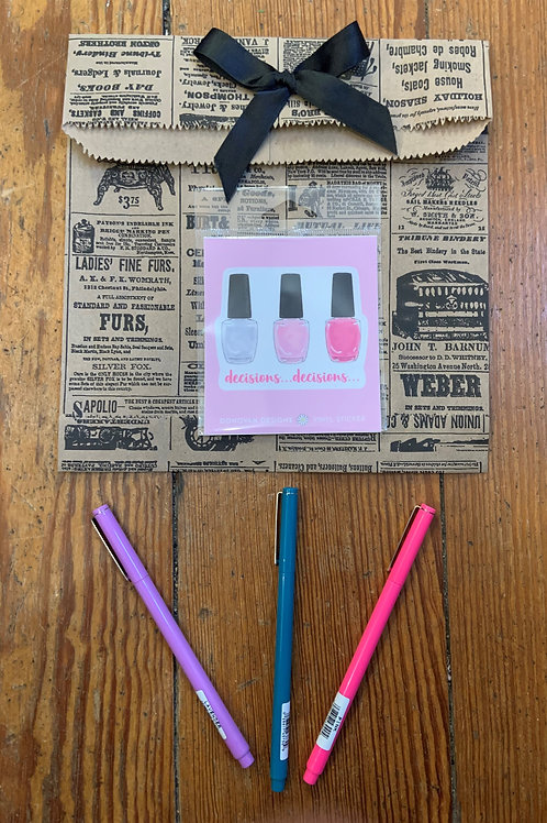 Vinyl Sticker and 3 Le Pens