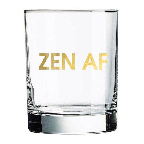 ZEN AF ROCKS GLASS