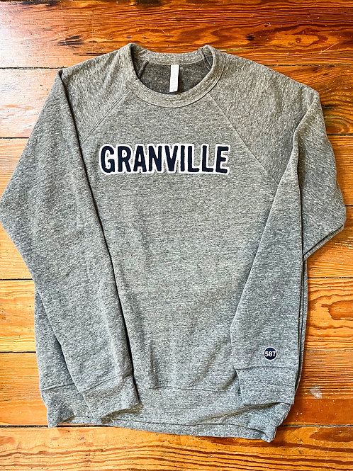 587Granville Crew Neck Grey