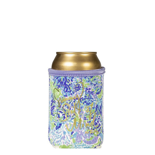 lilly pulitzer drink hugger, shell of a party