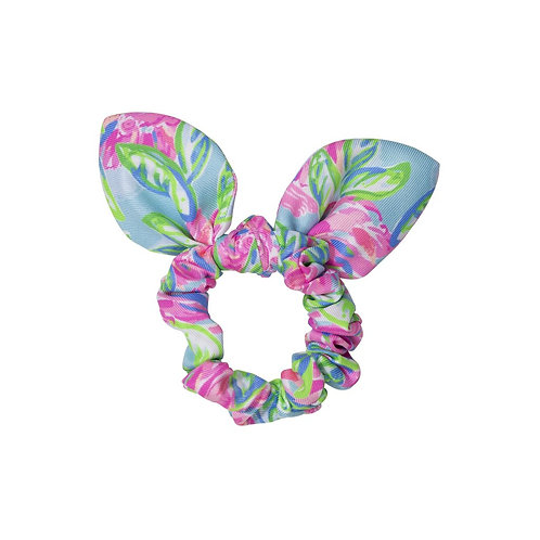 lilly pulitzer hair scrunchie, totally blossom