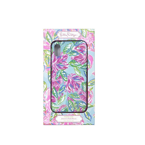 lilly pulitzer iphone case xr, totally blossom