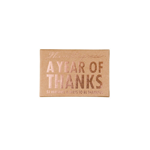 Eccolo Thimblepress A Year of Thanks Cards Boxed Set