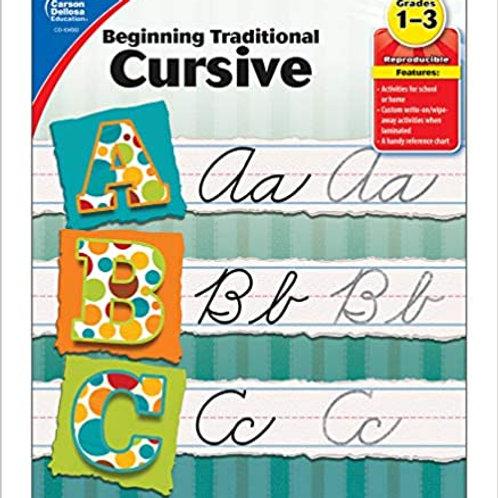 Grades 1-3 Cursive Writing Book