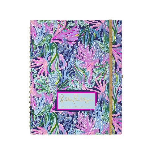 Lilly Pulitzer weekly to do undated planner, Bringing Mermaid Back- 200819