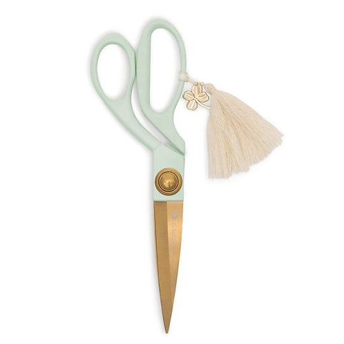 SCISSORS WITH TASSEL & CHARM | MINT