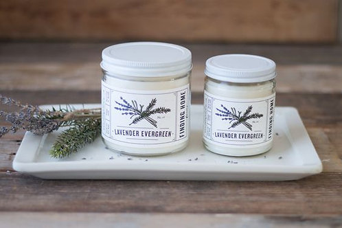 Finding Home Farms Lavender Evergreen Soy Candle