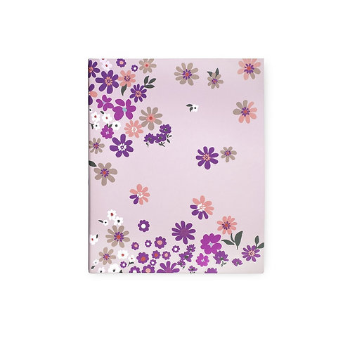 kate spade new york concealed spiral notebook, pacific petals