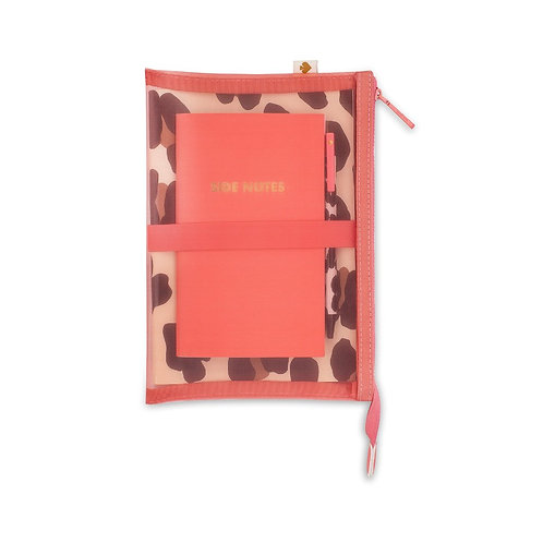 kate spade new york jotter pouch, forest feline