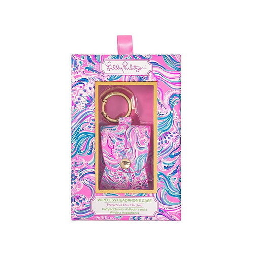 lilly pulitzer airpod carrier, don't be jelly
