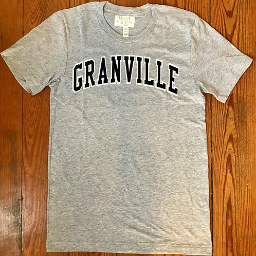 587 Light Gray Varsity Outline Tee
