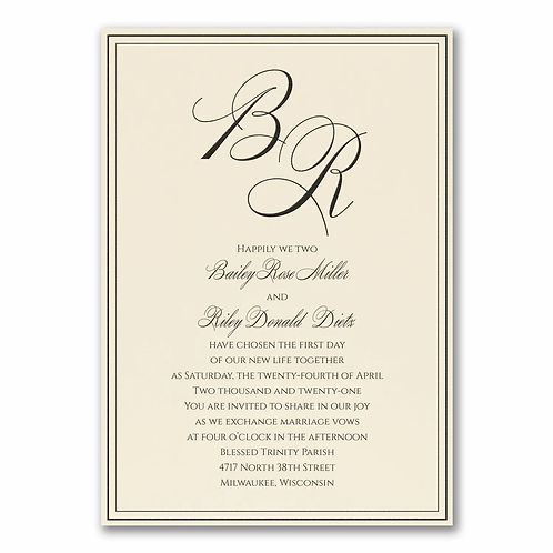 Heartfelt Invitation - FV54922