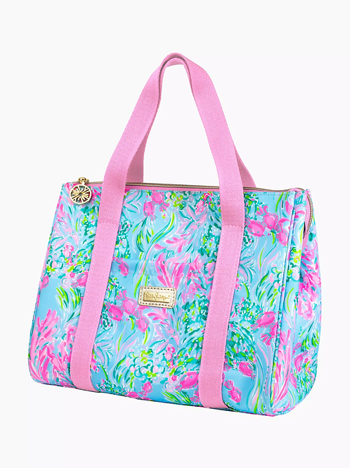 Lilly Pulitzer Lunch Cooler Tote - Best Fishes 215202