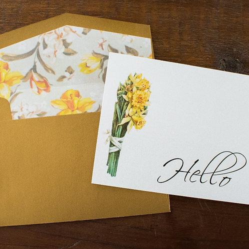 Daffodil Hello Box Set