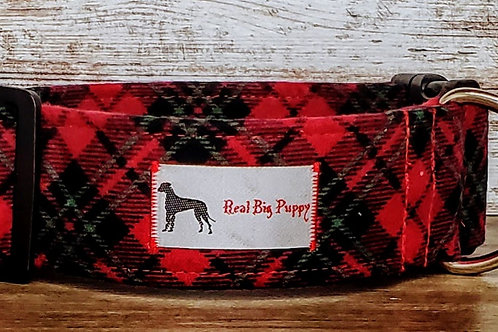 Real Big Puppy Collar 25 - Holiday