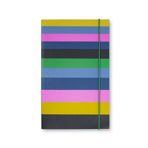 kate spade new york take note large notebook, enchanted stripe