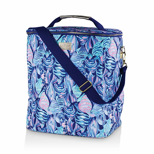 lilly pulitzer wine carrier, scale up