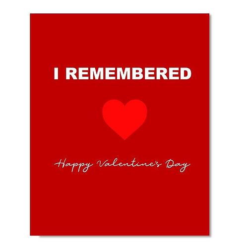 Valentines Day Greeting Card - 15