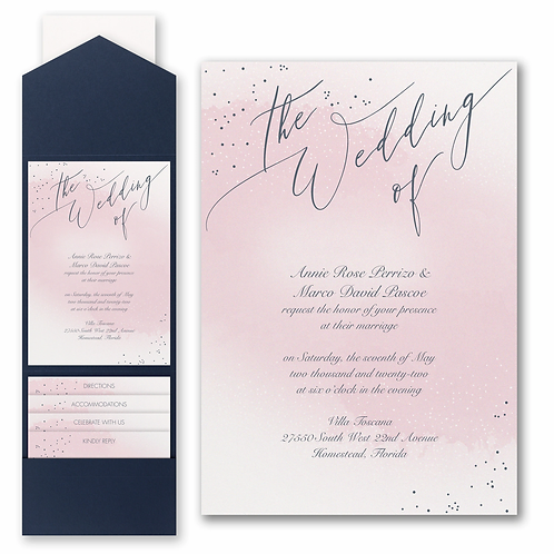 Champagne Wedding with Pocket - FBN56826B