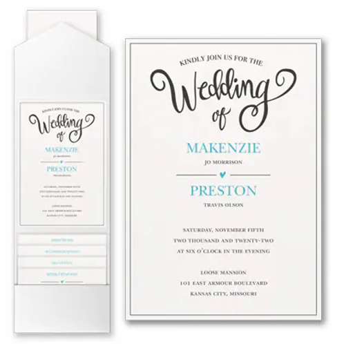 Wedding Whimsy with Pocket - FBN56994B