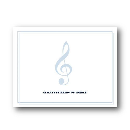 Arts Boosters - Foldover Notecards