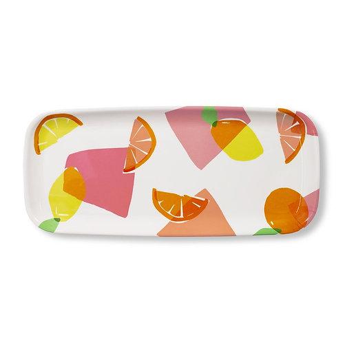 kate spade new york appetizer tray, citrus celebration