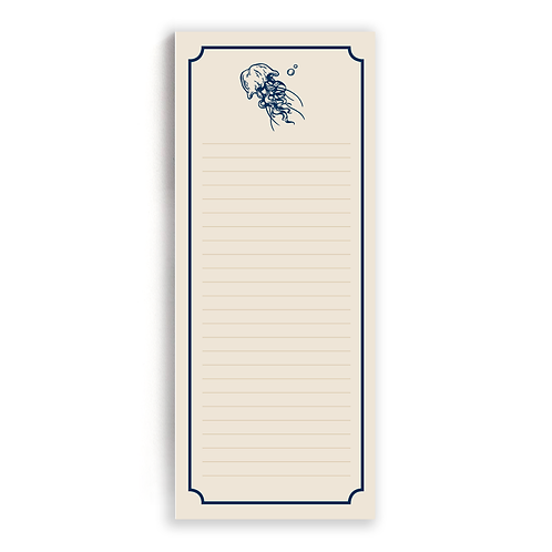 Message In A Bottle: List Pad (Octopus)