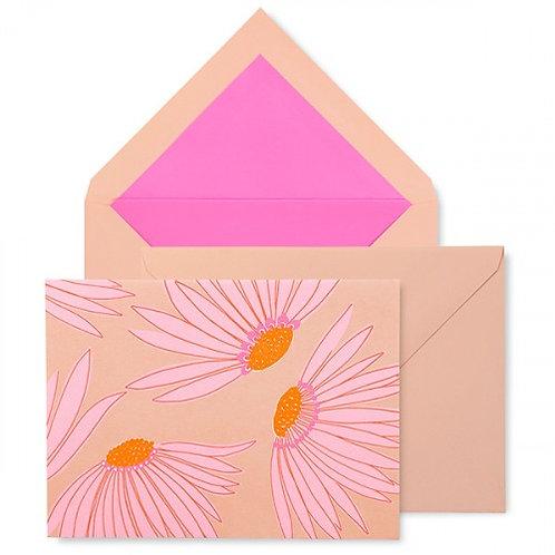 kate spade new york notecard set, falling flower
