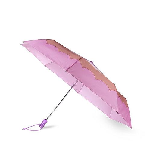 kate spade new york travel umbrella, scallop