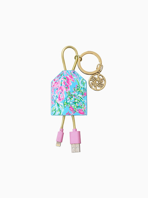 Lilly Pulitzer Charging Tag - Best Fishes 211902