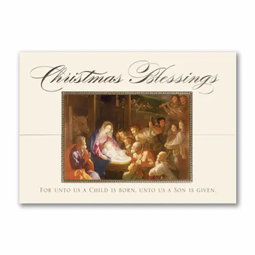 A Christmas Blessing  XGM1917
