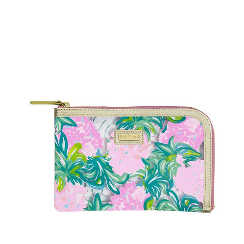 lilly pulitzer agenda accessory pack, pineapple shake