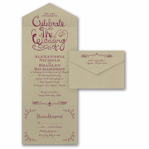 Celebrate the Wedding Seal 'n Send - VZ28180