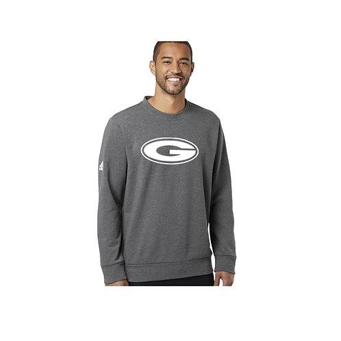 Grey Adidas Crew Neck Sweatshirt