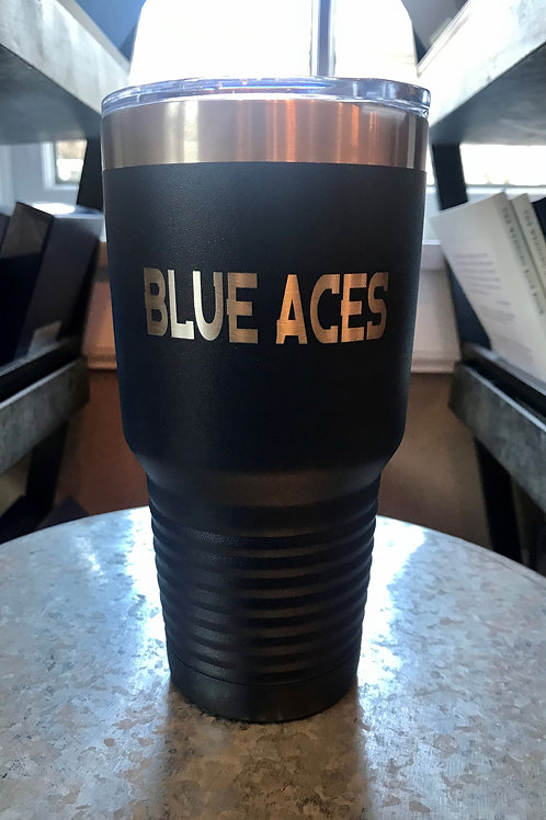 Arts Boosters -30oz Blue Aces Tumbler