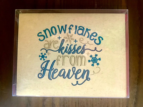 JW Snowflakes are kisses from Heaven Holiday Boxed Set