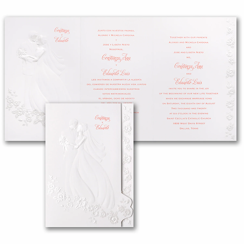 Forever Coupled Invitation -HH13882