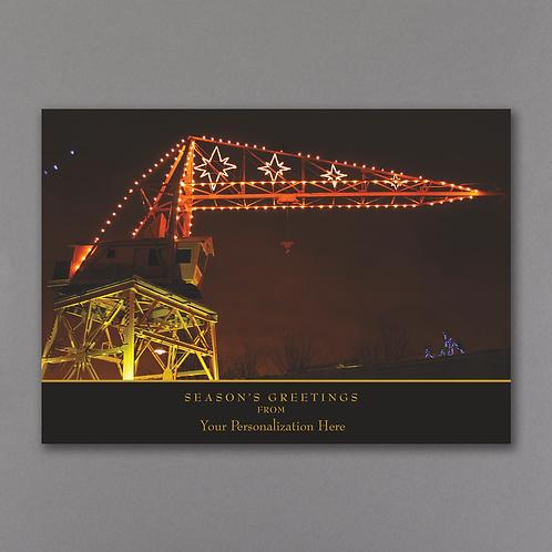 Christmas Crane YM10236FC