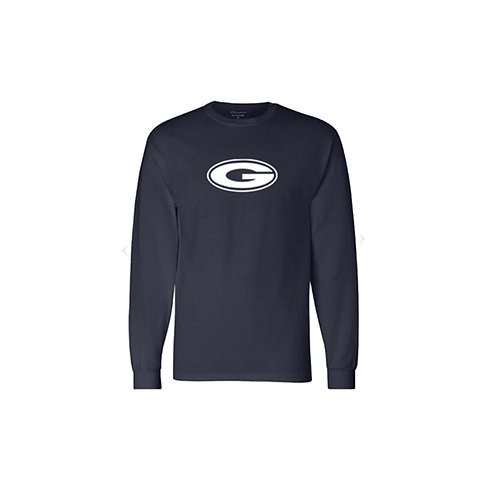 Charcoal Heather Champion Long Sleeve T-Shirt