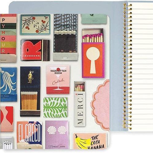 Kate Spade New York Matchbook Concealed Spiral Notebook