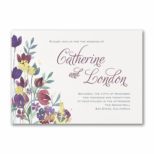Watercolor Garden Invitation - TWS58261