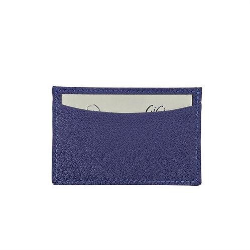 Slim Design Card Case -Goatskin Leather