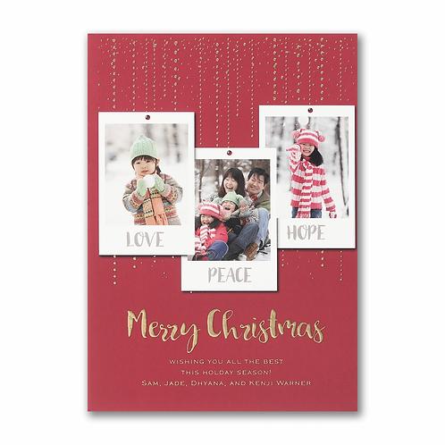 Dazzling Christmas - Holiday Card YU59334